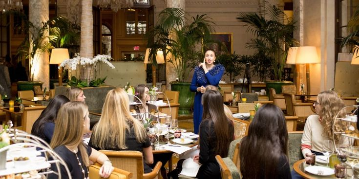 "The Plaza's Etiquette Program - 25 Etiquette Tips I Learned at Finishing School || For starters, ""ladies first""is no longer a thing."