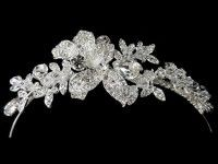 Headband with diamante flowers and petals