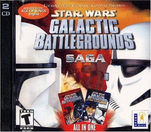 Star Wars: Galactic Battlegrounds Saga (PC, 2002)