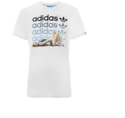 Koszulka T-shirt ADIDAS GIRL LATE