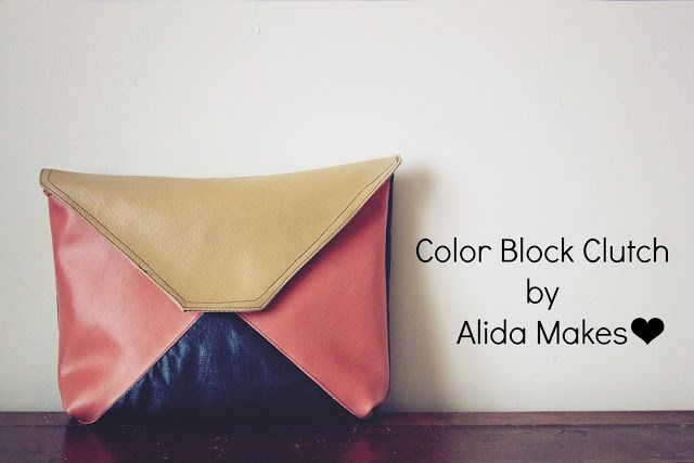 Hey y'all!  This is Alida from Alida Makes, here to give you your bi-monthly dose of Pinspiration!  I pinned this lovely color-blocked clutch forever ago and have been waiting patiently for the leather at Joanns to go on sale.  Finally it did, and I was able to do this entire project for $6!  Here's how: [Read More]