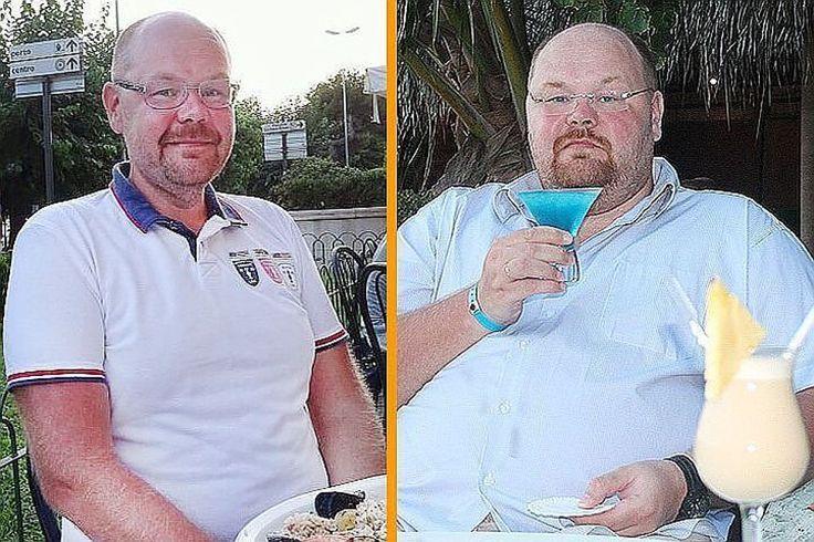 Фото справа сделано в 2013 году, доктор Зудин весил 164 кг. Фото слева снято спустя год, весы показывали уже 112 кг. Фото: личный архив
