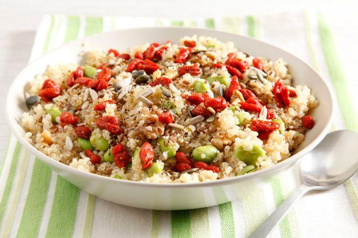 Insalata di edamame e quinoa ricetta