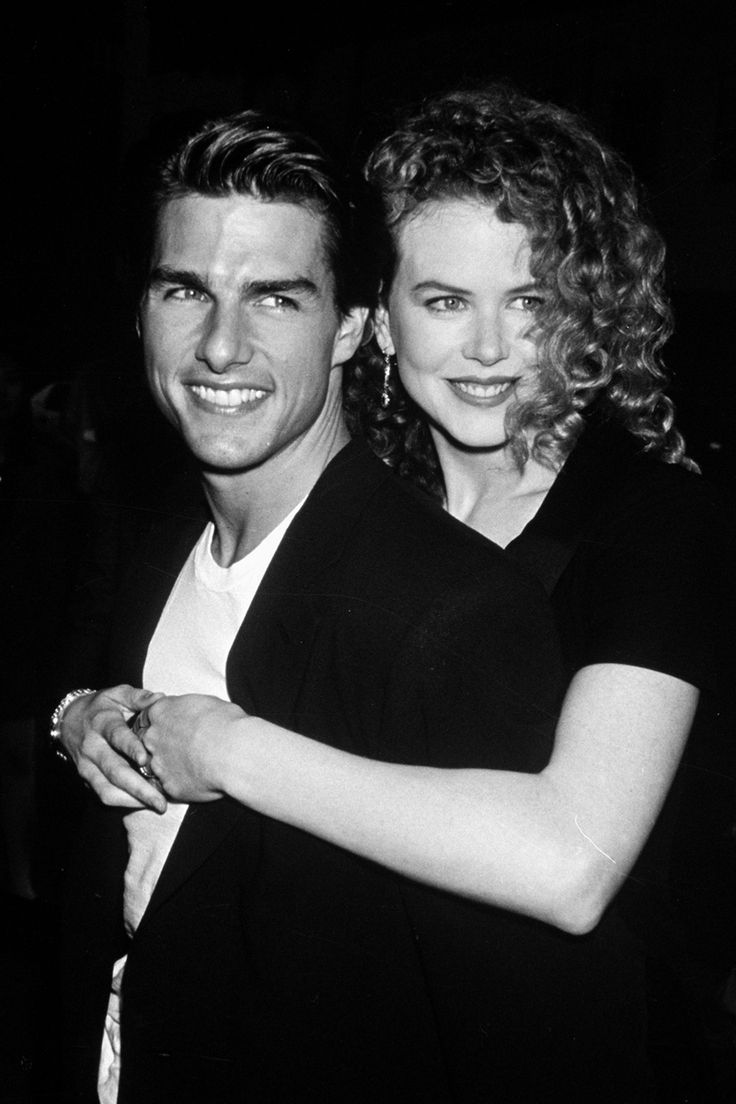 Tom Cruise and Nicole Kidman 90s. Think she looks happier w/new husband. But, I still issues w/country music.