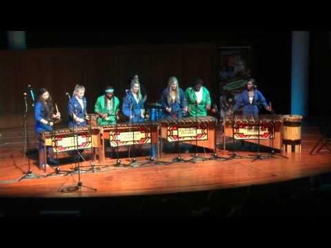 Cape Town Marimba Festival 2012 Parklands College Senior Band playing Clocks - YouTube