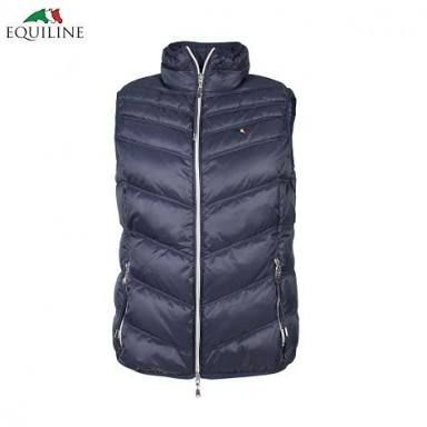 Image result for equiline navy gilet josephine