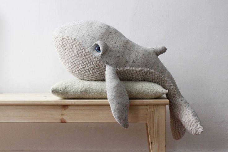 Big Whale <O> Stuffed Animal <O> Plush Toy by BigStuffed on Etsy https://www.etsy.com/listing/249257861/big-whale-o-stuffed-animal-o-plush-toy