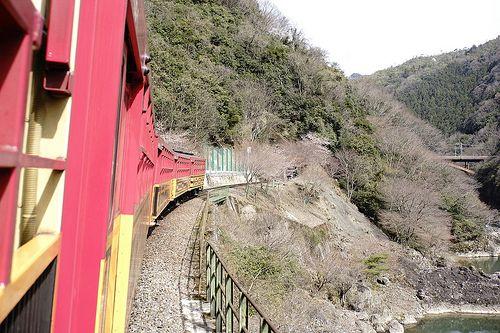 嵐山 嵯峨野トロッコ列車