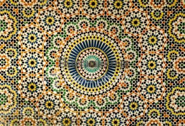 Traditional Moroccan Tile Design