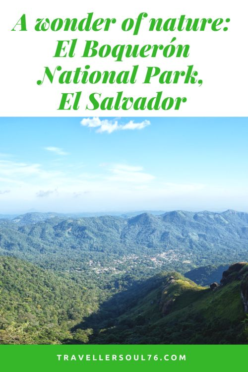 One of Mother Nature's finest creations and mysteries is El Boquerón National Park, located only a short distance from El Salvador's capital. Nature never ceases to surprise. Come along on this hike!