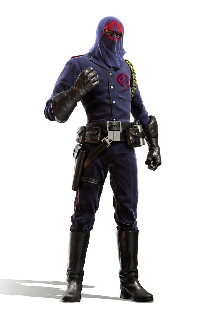 Cobra Commander ; Jeff Miller