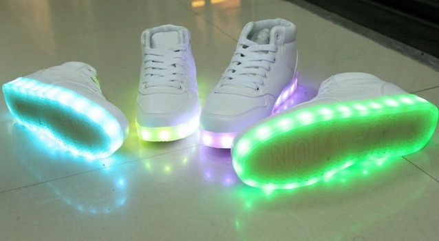I WANT THIS MORE THAN LIFE ITSELF. Light Up Shoes For Women, 8 Colors in 1 Re-Chargeable.