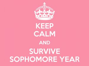 What it Taught Me: Sophomore Year in a Nutshell