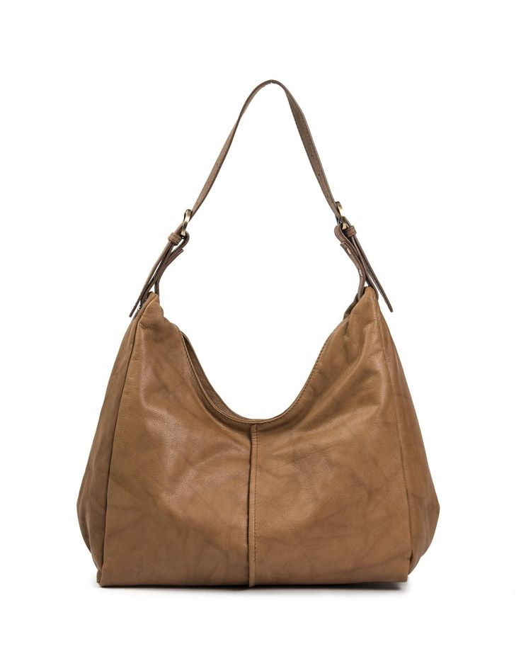 Leather Hobo Bag | Woolworths.co.za
