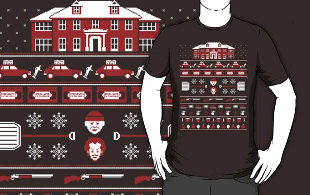 Home Alone Christmas Sweater T-Shirt Get yours here: http ...