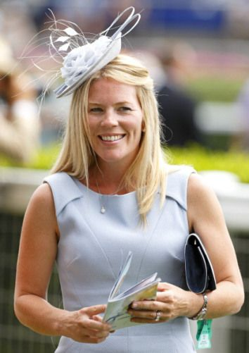 Autumn Phillips [Daughter in Law of The Princess Royal] attended the King George Meet at Ascot Racecourse