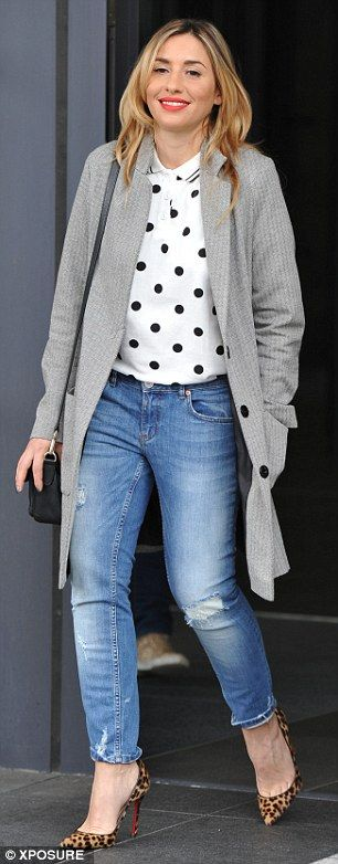Melanie Blatt knows my style! This is definitely what I would wear. All though I'd swap the heels for flats.