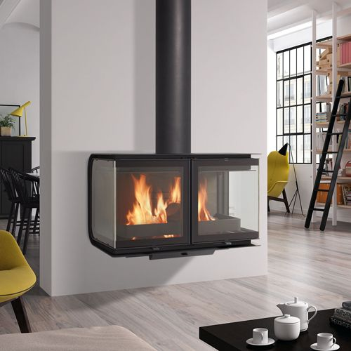 Rocal City Wall Mounted Wood Burning Stove