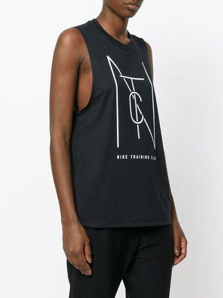Nike Top mit Logo-Print