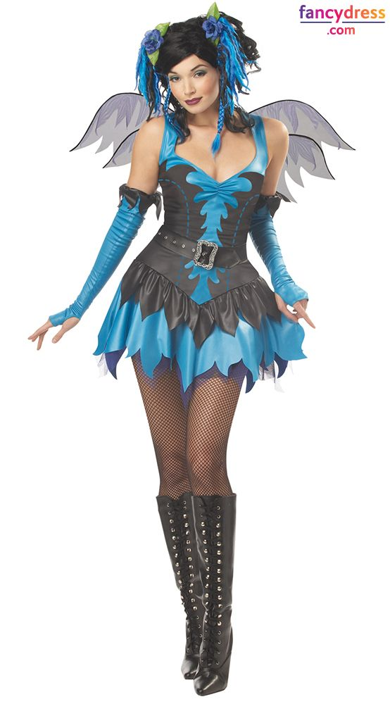 This gothic twist on the classic fairy is a fantastic alternative costume that will make a huge statement. **International Shipping** http://www.fancydress.com/costumes/Twilight-Fairy/0~1069464