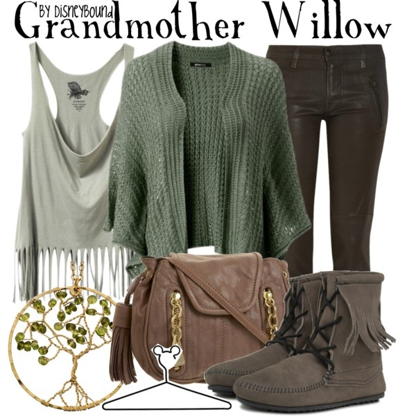 Grandmother Willow, created by lalakay on Polyvore #disney