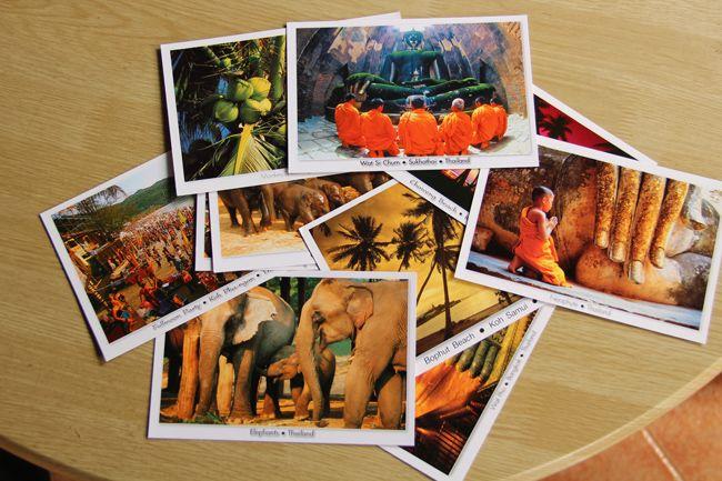 Открыток, как отправить открытку из таиланда в россию