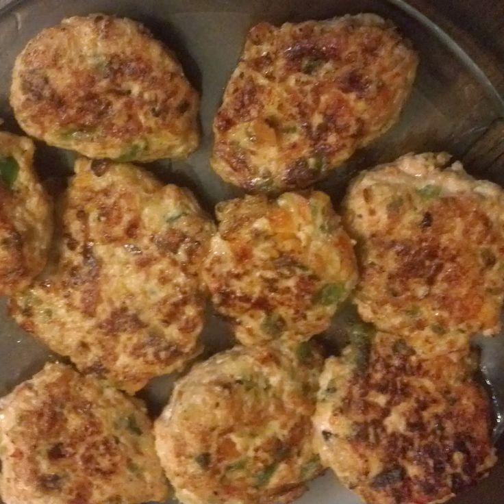 Eco-Mama Blog: Minihamburguesas de mil verduras con pollo