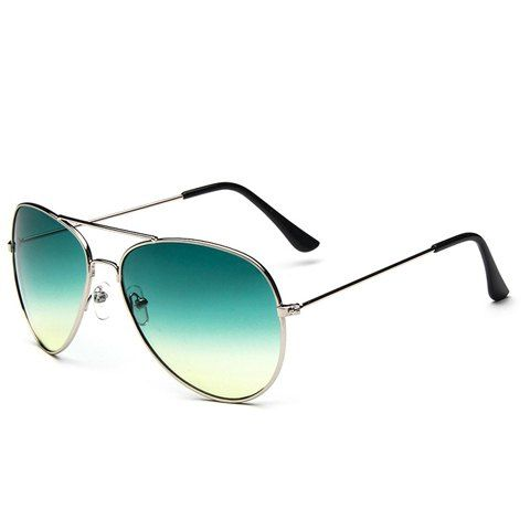 Chic Ombre Candy Color and Alloy Frame Design Sunglasses For WomenSunglasses | RoseGal.com