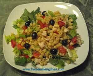 Italian Pasta Salad in a Jar