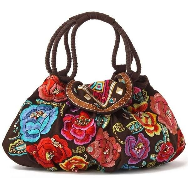 Inspiration - embroidered bag