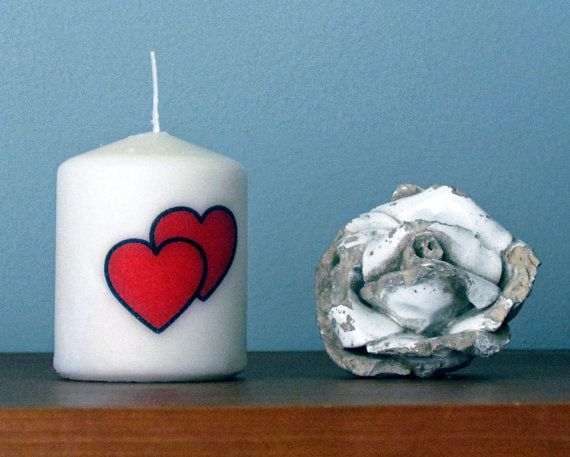 Love Candles by PresentesdePortugal on Etsy