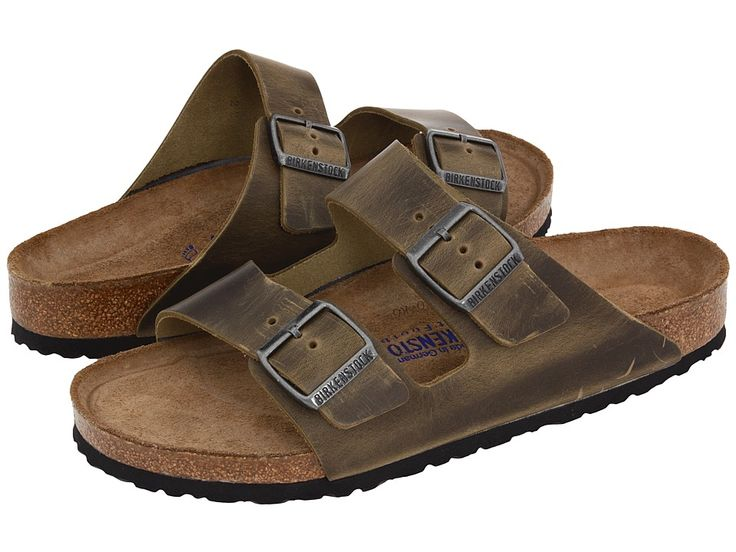 a4f410fd42a18 Birkenstock Arizona Soft Footbed Antique Dune Mens Sandals
