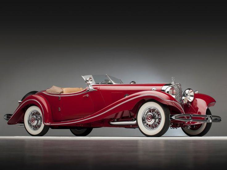 Mercedes-Benz 500 K Roadster - Simply Beautiful