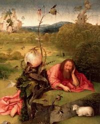 """La """"Méditation de saint Jean-Baptiste"""" de Jérôme Bosch : quand la beauté cache le mal - Le Point"""