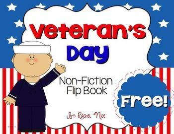 FREEBIE!  Veteran's Day Flip Book