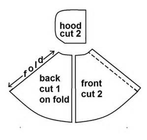 Easy Hooded Cape Pattern - Bing images