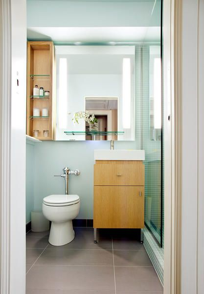 bathroom inspiration...love the colour on the walls