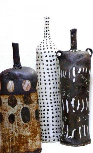 «Бисквит» — Студия керамики - Бутылки brenda holzke