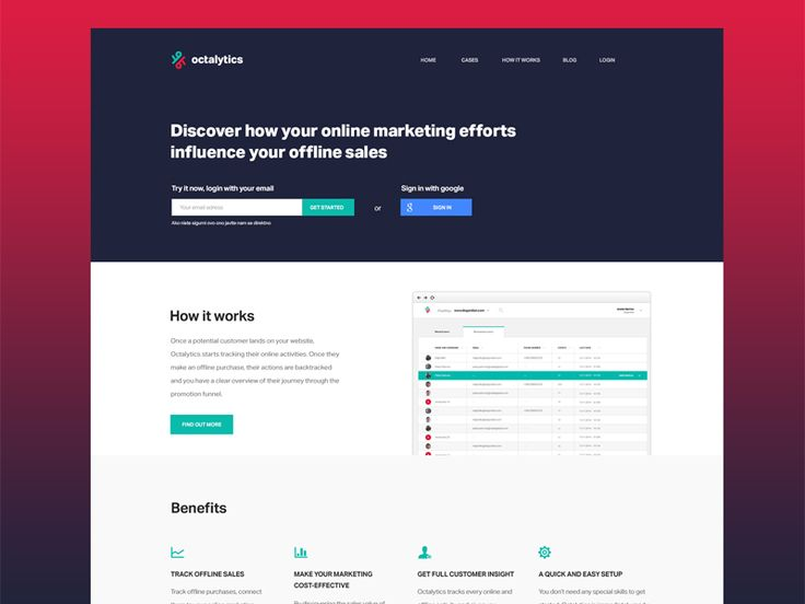 Octalytics is a breakthrough, simple to use analytics tool that enables tracking of online activities and connecting them to your offline sales.  When a potential customer lands on your website, Oc...