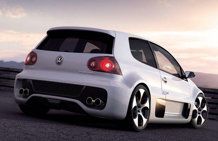 Volkswagen Golf GTI W12... shame shoulders don't fit!!