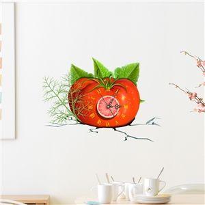 3D Wanduhr Modern Tomate Design Lautlos