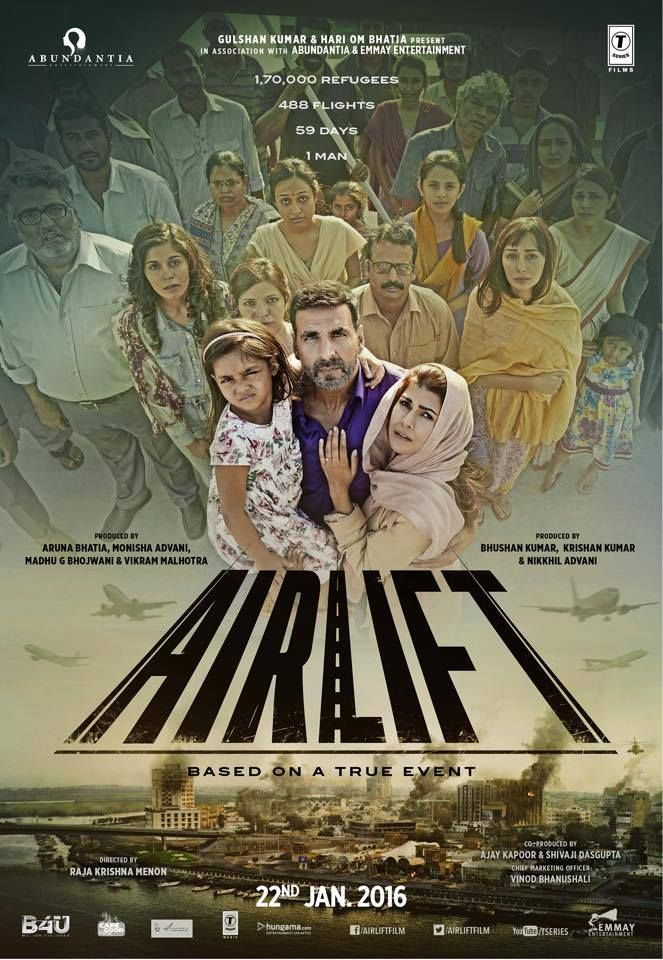 Here's the international poster of @AkshayKumar Film #Airlift #22jan