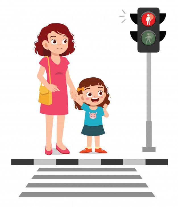 Feliz Nina Linda Nina Cruza La Calle Con Premium Vector Freepik Vector Imagenes Animadas De Ninos Dibujos Para Ninos Ilustracion De Los Ninos