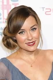 Image result for lauren conrad hair up