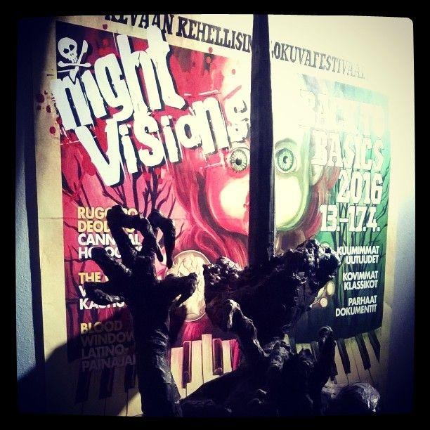 Asioiden äärellä... #NightVisions #festivaalit #nightVisions16 #kevät #TheVVitch #Witch 13.4.16
