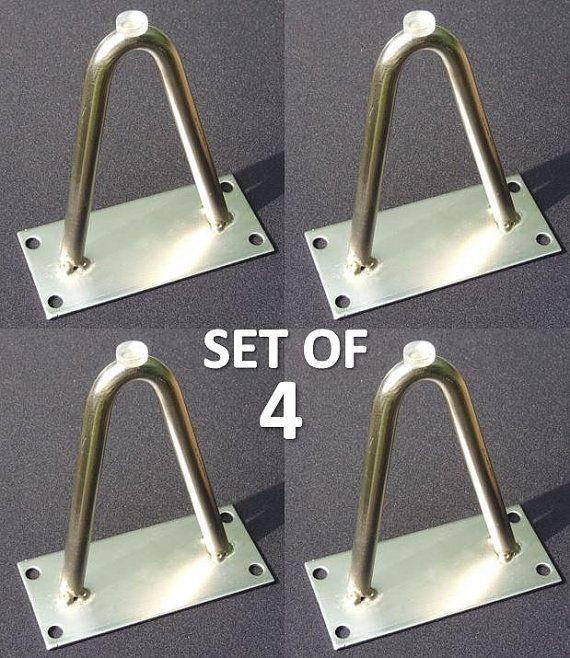 NEW Set of four 4 Hairpin Furniture Legs 4 von acrossandbeyond
