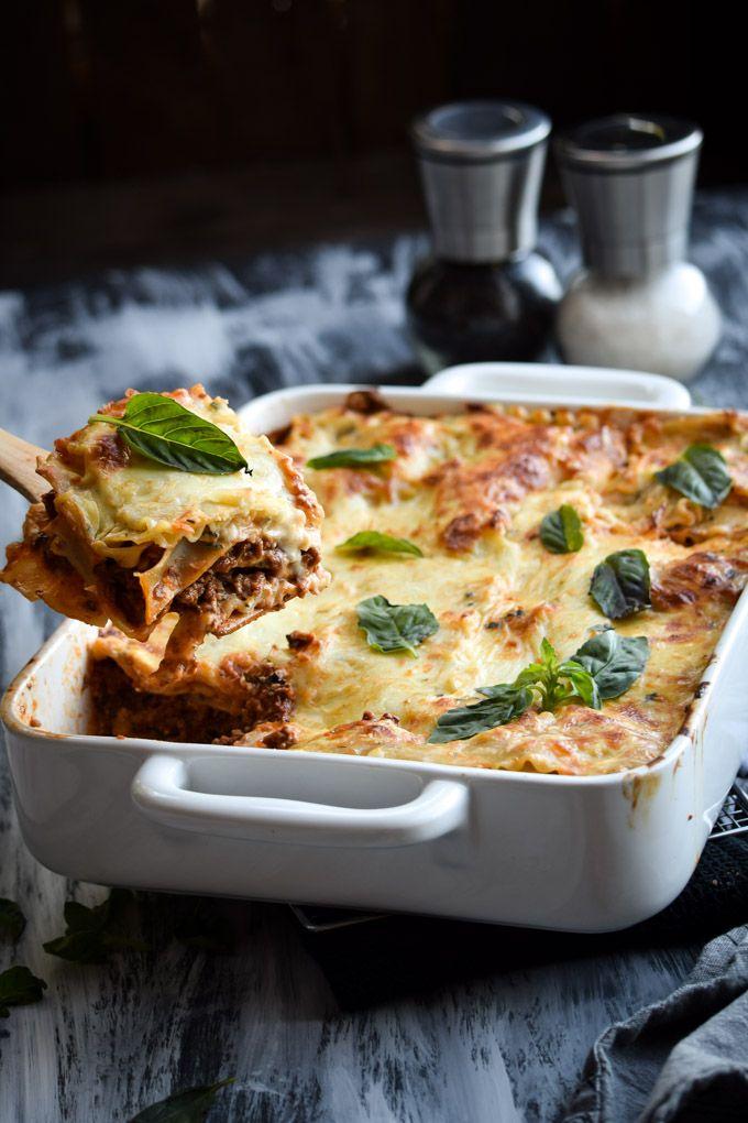 Chipotle Beef and Bechamel Lasagna   Gringalicious