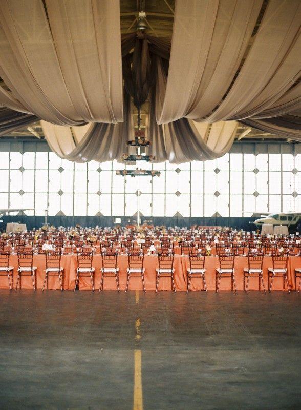Long Beach Airport Aviation Wedding Venue