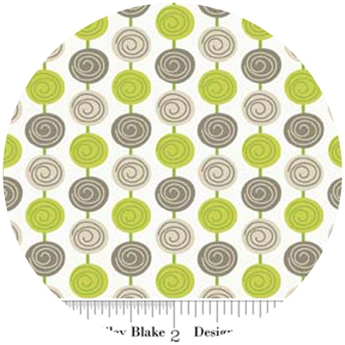 Zoe Pearn Designs Alphabet Soup, Beads Green