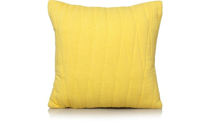 Bring a burst of colour to your bed spread with this vibrant yellow quilted cushion from George Home.. Shop from our latest range in Home & Garden.